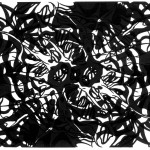 "Lost Unknowns, 2013. Archival inkjet monotype on rag paper. 22"" x 17""."